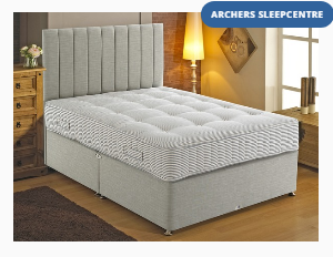 Shire Hotel Deluxe Pocket 1000 Crib 5 Contract King Size Divan Bed